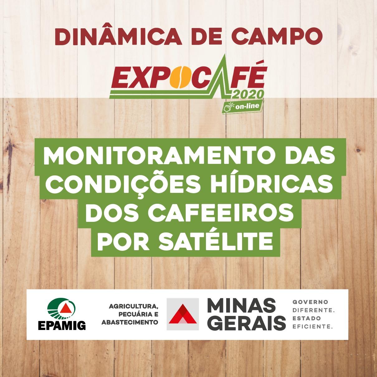 Monitoramento condições hídricas por satélite
