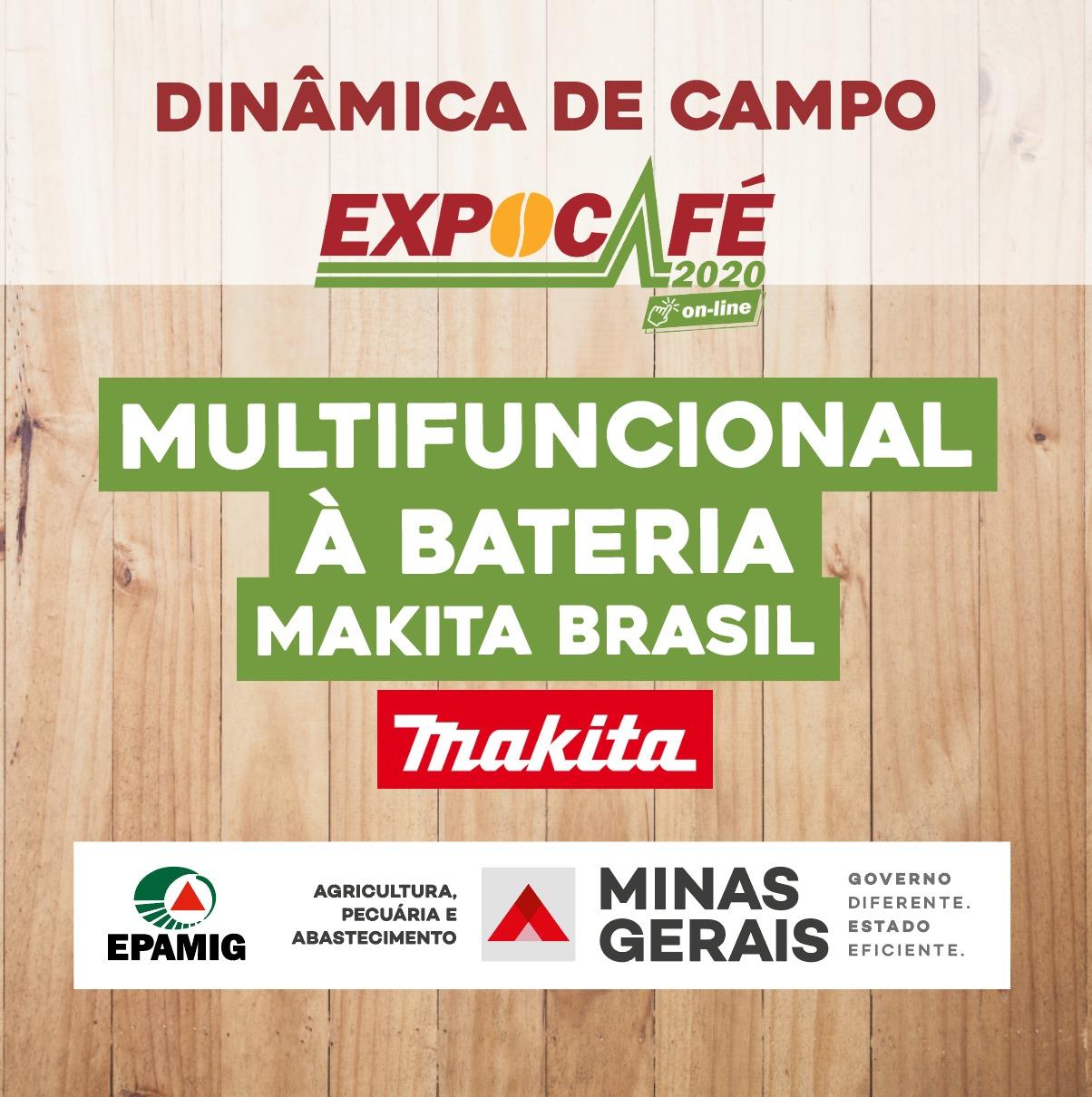 Multifuncional a bateria Makita Brasil