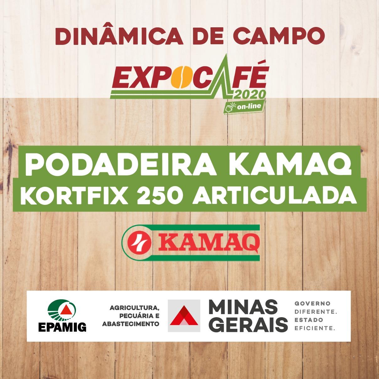 Podadeira Kamaq KORTFIX 250 articulada