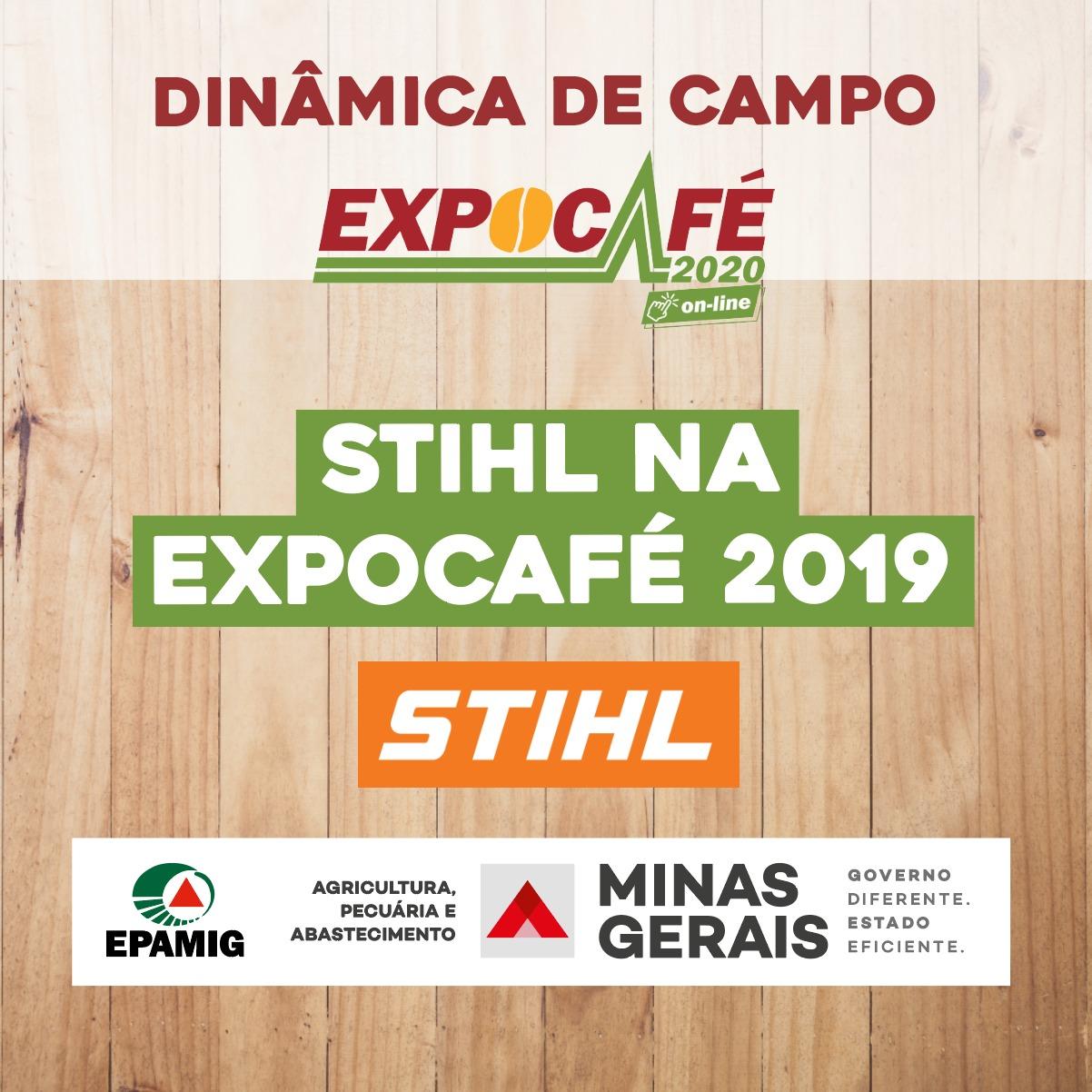 STIHL na EXPOCAFÉ 2019