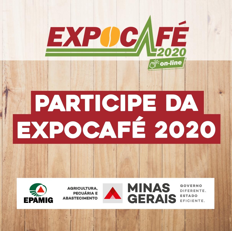 Participe da EXPOCAFÉ 2020
