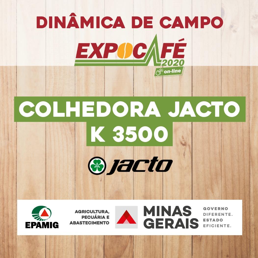 Colhedora Jacto K 3500