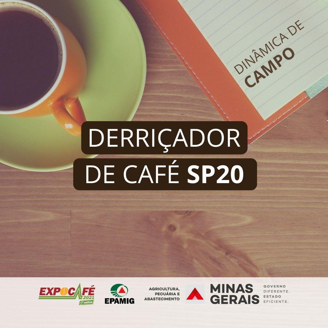 Cafeicultores avaliam derriçador STIHL SP 20
