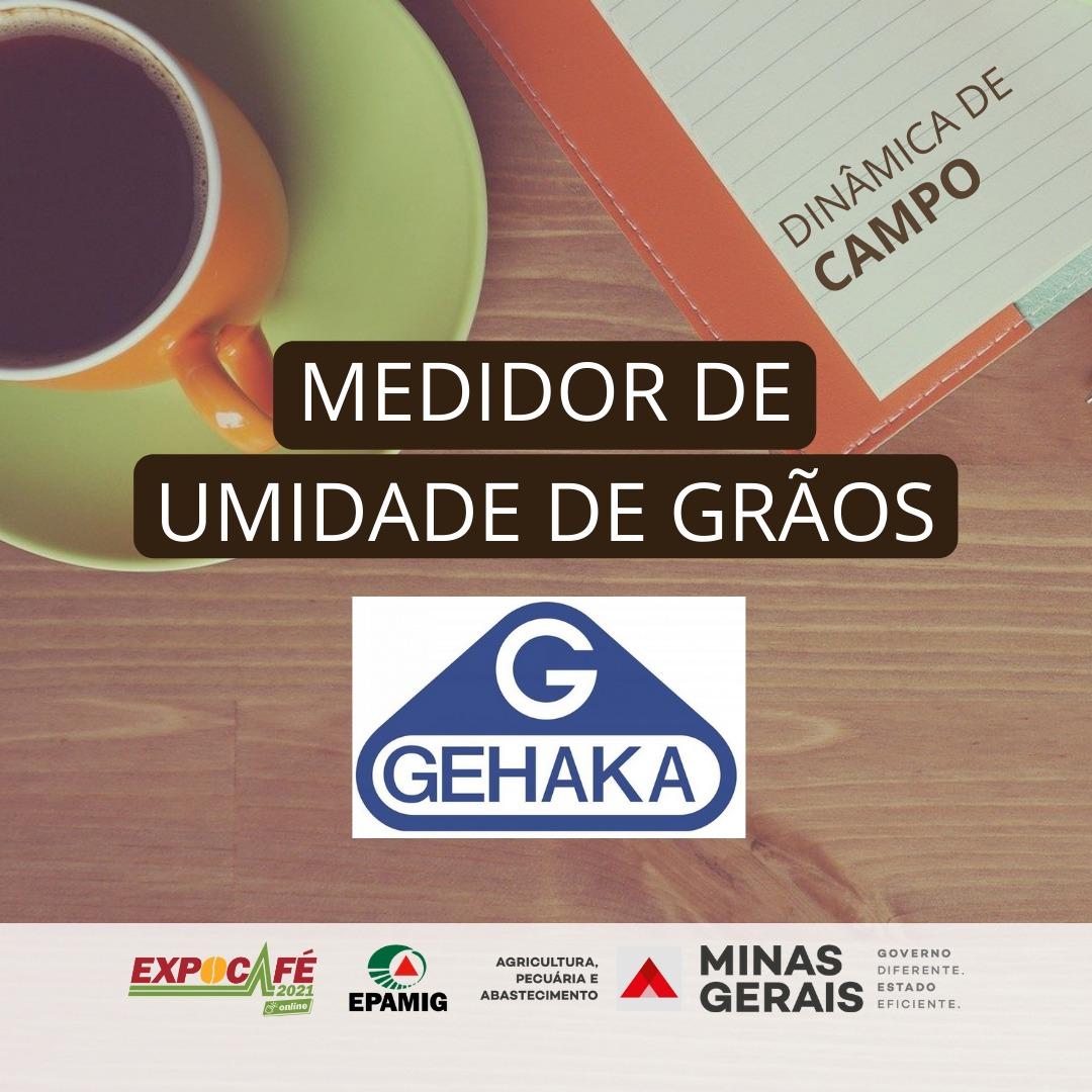 Medidor de umidade de grãos – GEHAKA